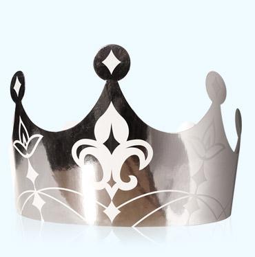 """Alcara - couronne """"royale argent"""""""