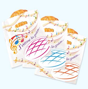 """Alcara - sacs """"J'aime la galette"""""""