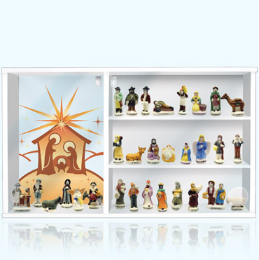 Alcara - coffret vitrine La Pastorale