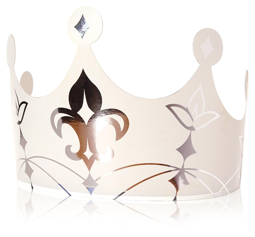 """Couronne """"Royale blanche"""""""