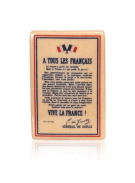 Charles de Gaulle Anniversaire - Fèves Alcara - Épiphanie 2021