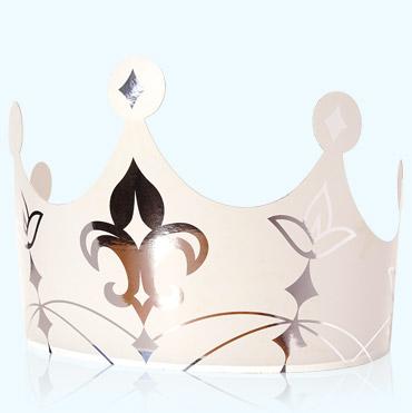 Couronne Royale Blanche Accessoire