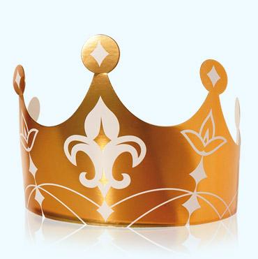 Couronne Royale Or Accessoire