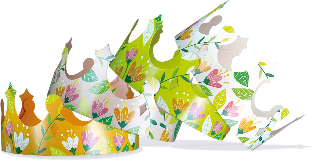 """Couronnes """"Floral"""" - Alcara - Epiphanie 2022"""