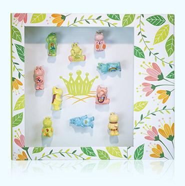 Épiphanie 2022 - Drôles d'Hippos - Coffret floral