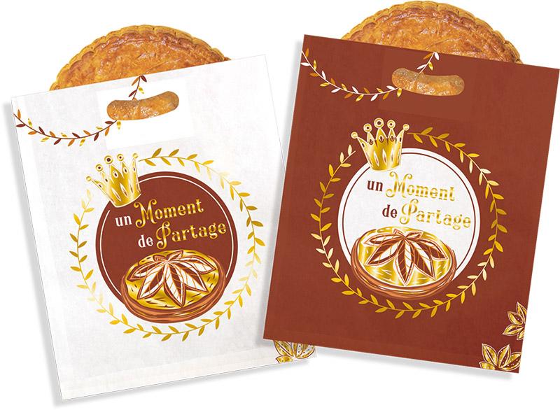 """Sacs à galette """"Amande"""" - Une nouveauté Alcara pour l'épiphanie 2022"""